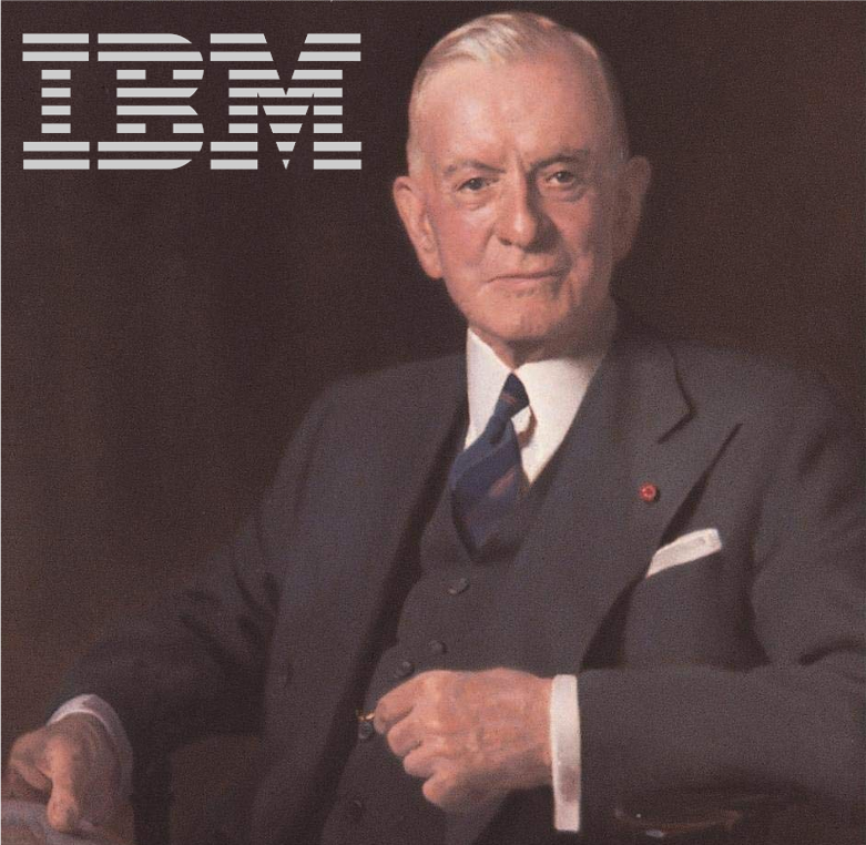 "CDA's Kevin Maney highlights how IBM defined and dominated the category of ""data processing."""